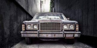 Εγκαταλελειμένο αυτοκίνητο