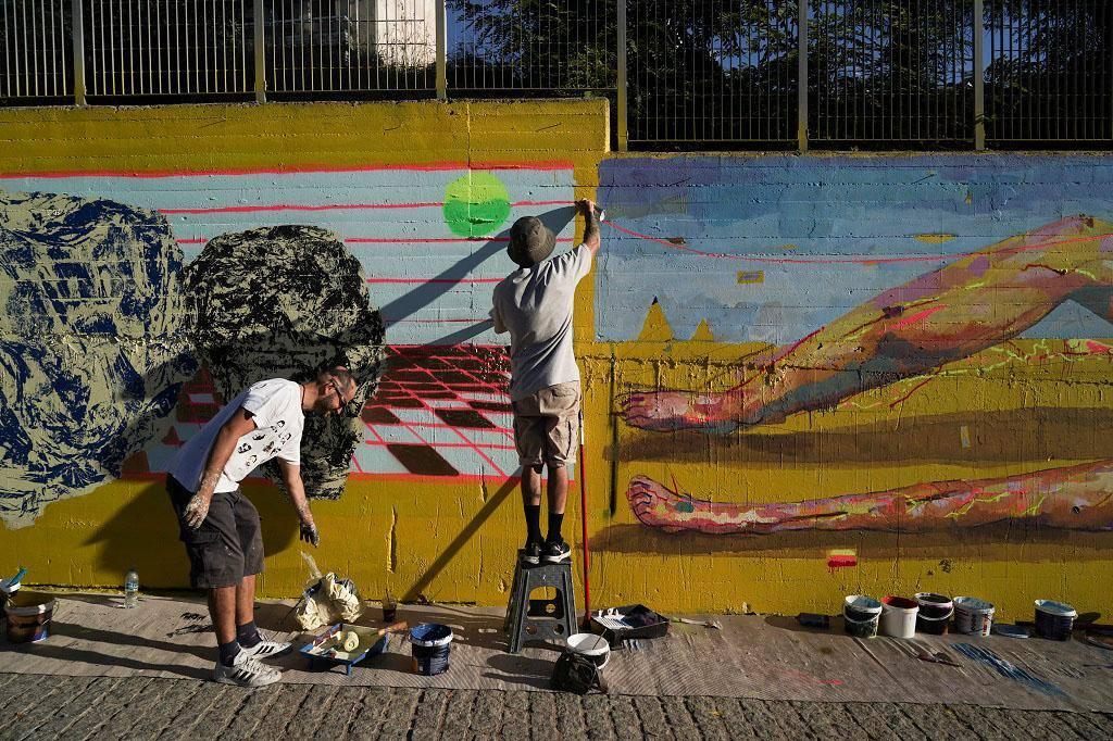Αθήνα τοιχογραφία