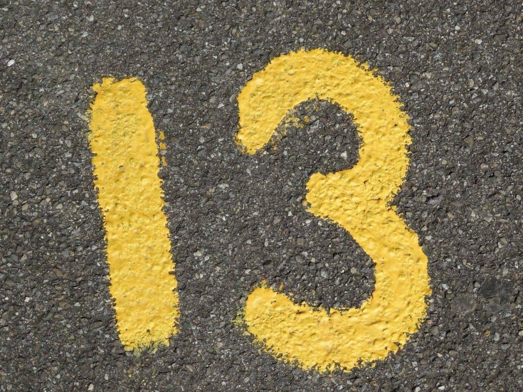 Τρίτη και 13