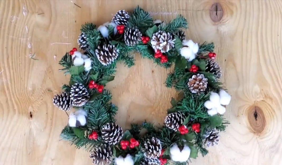 DIY χριστουγεννιάτικες ιδέες