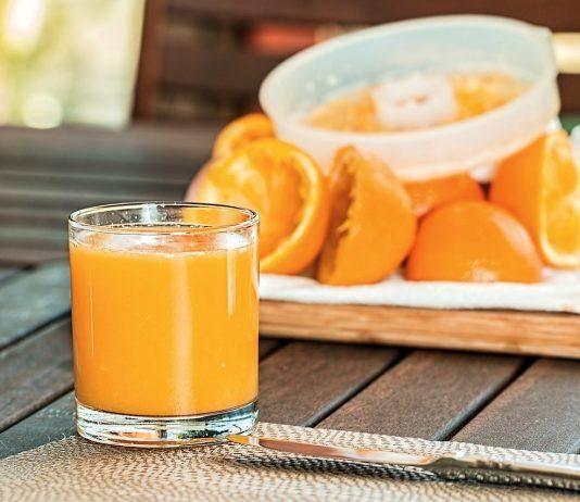 Χυμός πορτοκαλιού Γρίπη