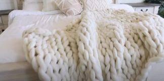 DIY κουβέρτα